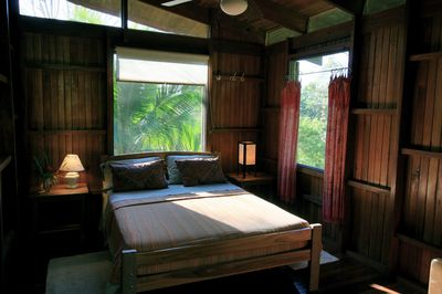 2nd bedroom has a great view of the stars at night.