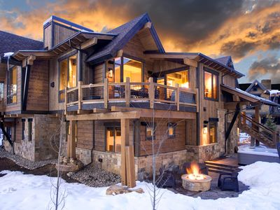 Photo for Modern Duplex located steps from Mid-Station Gondola - Hot Tub & Gas Fire Pit