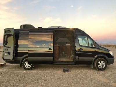 "Photo for Luxury Limo Adventure Sprinter for unique Joshua Tree ""Glamping"" experience."