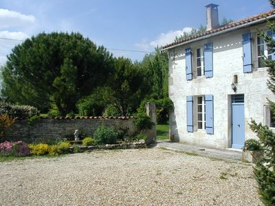 Photo for Les Bouleaux, Beautiful Stone Farmhouse with Private Heated Swimming Pool