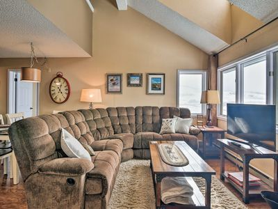 Photo for NEW! Walk to Ski Lift from Mtn-View Granby Condo!
