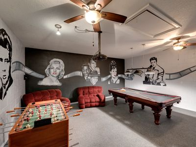 Photo for ⭐️ Sun Fun & Family, Exceptional Rated 😀 DISNEY 10 mins⭐️ Private Pool Games Room