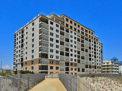 Photo for Budget-Friendly Oceanfront w/ Pool - Walk to OC Hotspots!