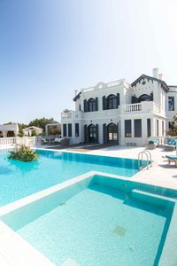 Photo for A four bedroom luxurious villa with pool ideal for families or big parties!