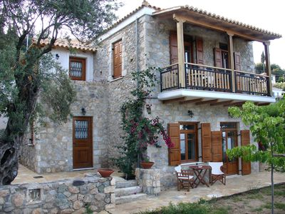 Photo for Traditional Stone house in Tyros