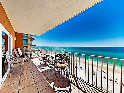 Photo for Remodeled Condo w/ Stunning Gulf Views & Private Balcony, Steps to Beach!
