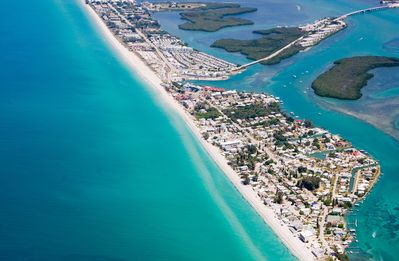 Aerial View of Englewood Beach (Manasota Key)