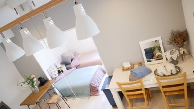 Photo for Cozy flat Disney 15min / Imperial Palace 16min / Airport
