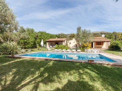 Photo for Can Fanals - Beautiful Villa with Private Swimming Pool, Blooming Gardens, BBQ and Air-Conditioning! - Free WiFi