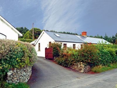 Photo for Two bedroom cottage with fine sea views, situated in a rural setting about 1½ miles from the v…