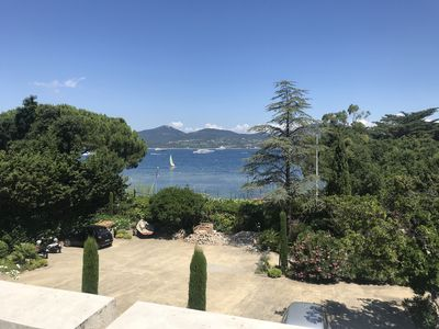 Photo for SAINT TROPEZ MAGNIFICENT APT 2 ROOMS / 4 PERS IN BASTIDE WITH SWIMMING POOL