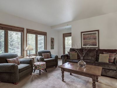 Photo for Tyra Riverbend 213: 3 BR / 3 BA condo in Breckenridge, Sleeps 10
