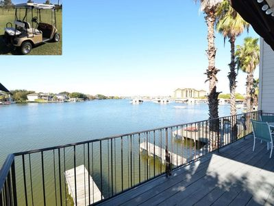 Photo for Luxury Waterfront Home with Boat Slip, Golf Cart, in Heart of Horseshoe Bay