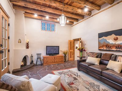 Photo for Historic Luxury Rental, Walk to The Plaza, on Old Santa Fe Trail