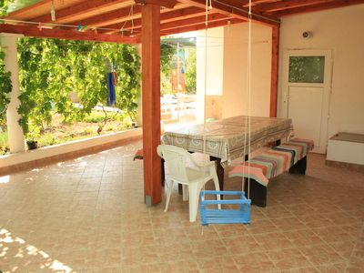 Photo for Two bedroom apartment with terrace Tkon, Pašman (A-8302-a)