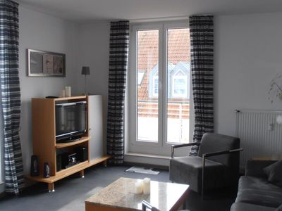 Photo for Duhner dune apartment 25, no smoking, wifi, lift, roof terrace, close to the beach