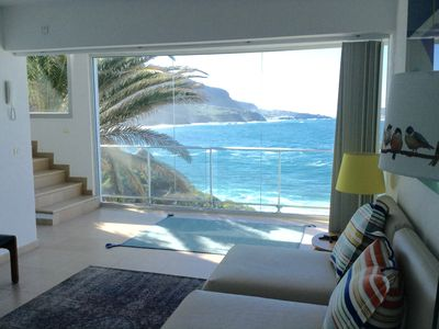 Photo for Superior Villa in NATURE in front of the sea with JACUZZI, POOL and SAUNA