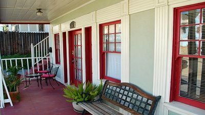 Photo for Classic & Central Hollywood Retreat with Porch and Garden