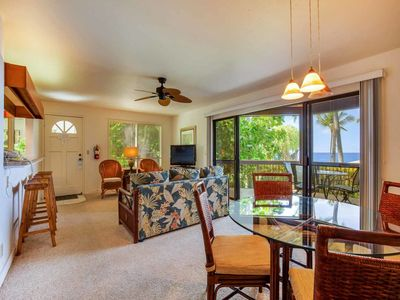 Photo for Relaxing Pacific+Palm View! Lanai w/Wet Bar, Modern Kitchen, WiFi, TV Kanaloa 2501