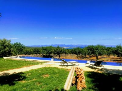 Photo for Finca with pool and beautiful views