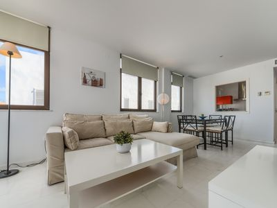 Photo for Cozy and bright duplex with terrace, Mercurio 2 - 2 bedrooms