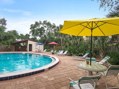 Photo for Dog-friendly villa just steps from the beach w/ shared pools & sports courts