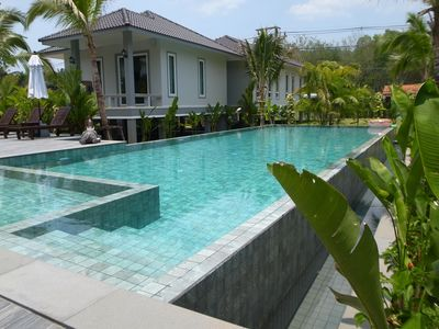 Photo for Private 3-room 1-bed villa by 15-m swimming pool and garden in Krabi, Thailand