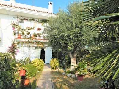 Photo for Nice semi-detached house with green garden just 50 meters from the sandy beach.