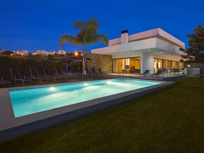 Photo for Villa Marina - Exceptional Contemporary 5 bed villa, walk to amenities, large games room