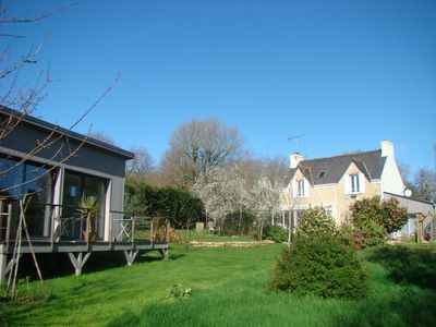 Photo for Near Pont-Aven, 2 guest rooms in the quiet of the countryside 10 km from the sea