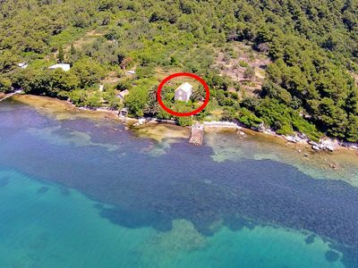 Photo for Secluded fisherman's cottage Ston - Supavao (Pelješac) - 9485