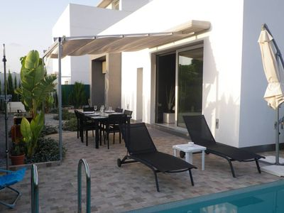 Photo for CONTEMPORARY VILLA WITH PRIVATE POOL NEAR THE BEACHES AND GOLF COURSES