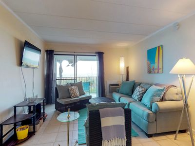 Photo for NEW LISTING! Beachfront condo w/patio & boogie boards - near beach & restaurants