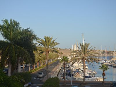 Photo for Luxury penthouse with views over the marina