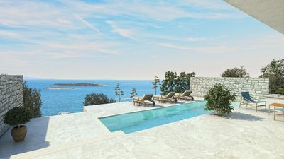 Photo for Beautiful Villa Visola, on the Island of Vis