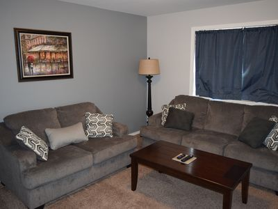 Photo for Beautiful 3 Bedroom Duplex Home