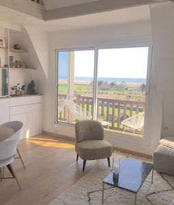 Photo for Deauville - Luminous duplex with panoramic sea view