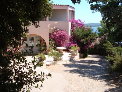 Photo for 23 mini terrace apartment 200m from the sea SEA VIEW