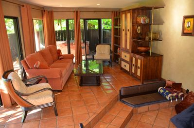 Cool Garden Level Home Private Hot Tub Walk To Beach Exotic Balinese Decor Princeville