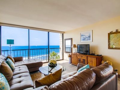 Photo for OCEANFRONT CORNER SUITE IN BEAUTIFUL PACIFIC BEACH