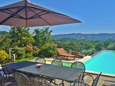 Photo for Villa with private pool on the border between Umbria and Tuscany