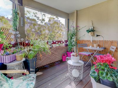 Photo for Charming T4 with terrace and garage close to Notre Dame de la Garde