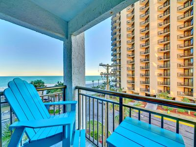 Photo for EXTRA SPECIAL CORNER UNIT/OCEANFRONT RESORT/BEST VIEW/OPEN FLOOR PLAN