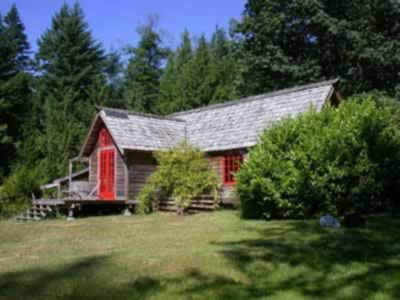 Photo for The Old Bakery Cottage on Lasqueti Island Escape to this waterfront paradise
