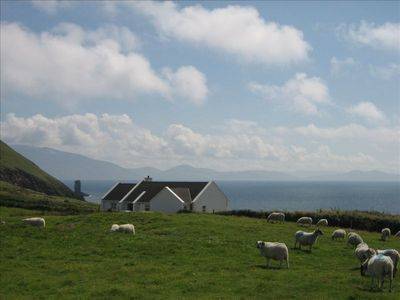 View of house South to Iveragh peninsula