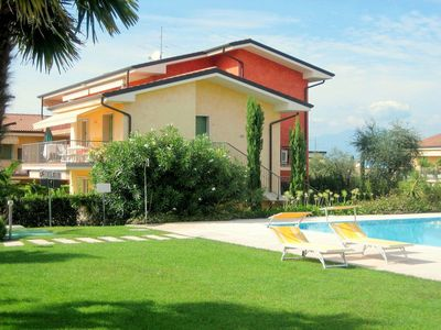 Photo for In Lazise, modern houses, nice and colourful decoration.