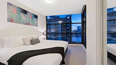 Photo for Premier Stays- 2 bedroom with free parking, wifi and foxtel