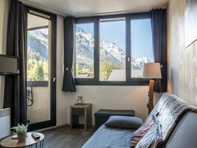 Photo for Apartment overlooking Mont Blanc