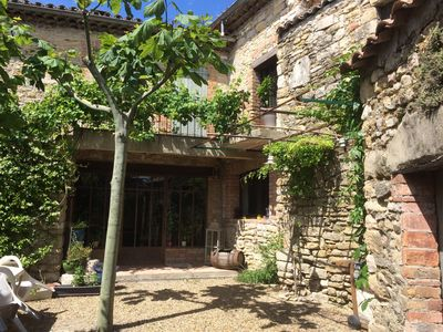 "Photo for ""A la Maison"" Charming Cévennes mas at the foot of the Cevennes .."