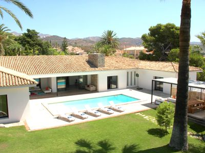Photo for New Property! Modern Villa in Marbella, Rio Real Golf with Private Pool